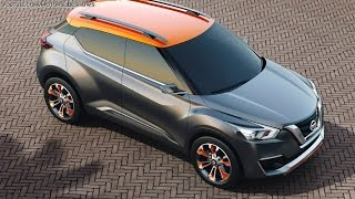 Nissan Kicks Concept at the Sao Paulo Auto Show