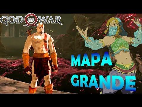 God of War: Un mundo grande - Kratos en Breath of the Wild | SQS