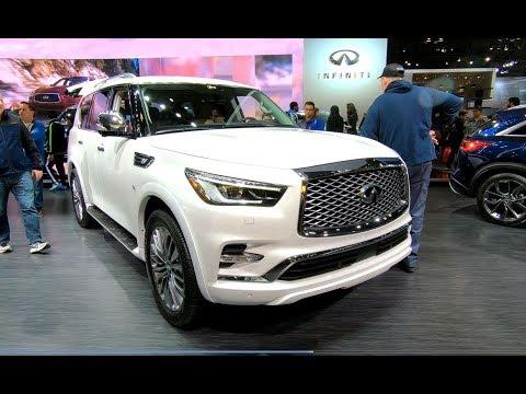 INFINITI QX80 5,6L V8 400HP LUXUS SUV MODEL 2018 WALKAROUND + INTERIOR