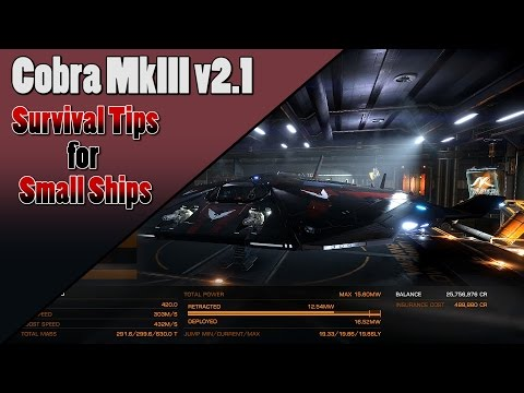 Elite Dangerous - Cobra Mk III Loadout 2.1 - Enter The Cobra!
