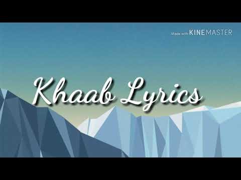 KHAAB (LYRICAL) l Female version l Ases kaur