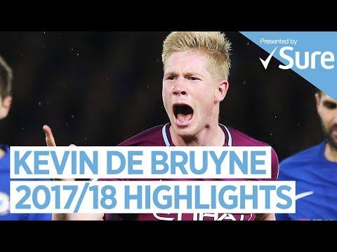 KEVIN DE BRUYNE   GOALS, SKILLS AND MORE   Best of 2017/18