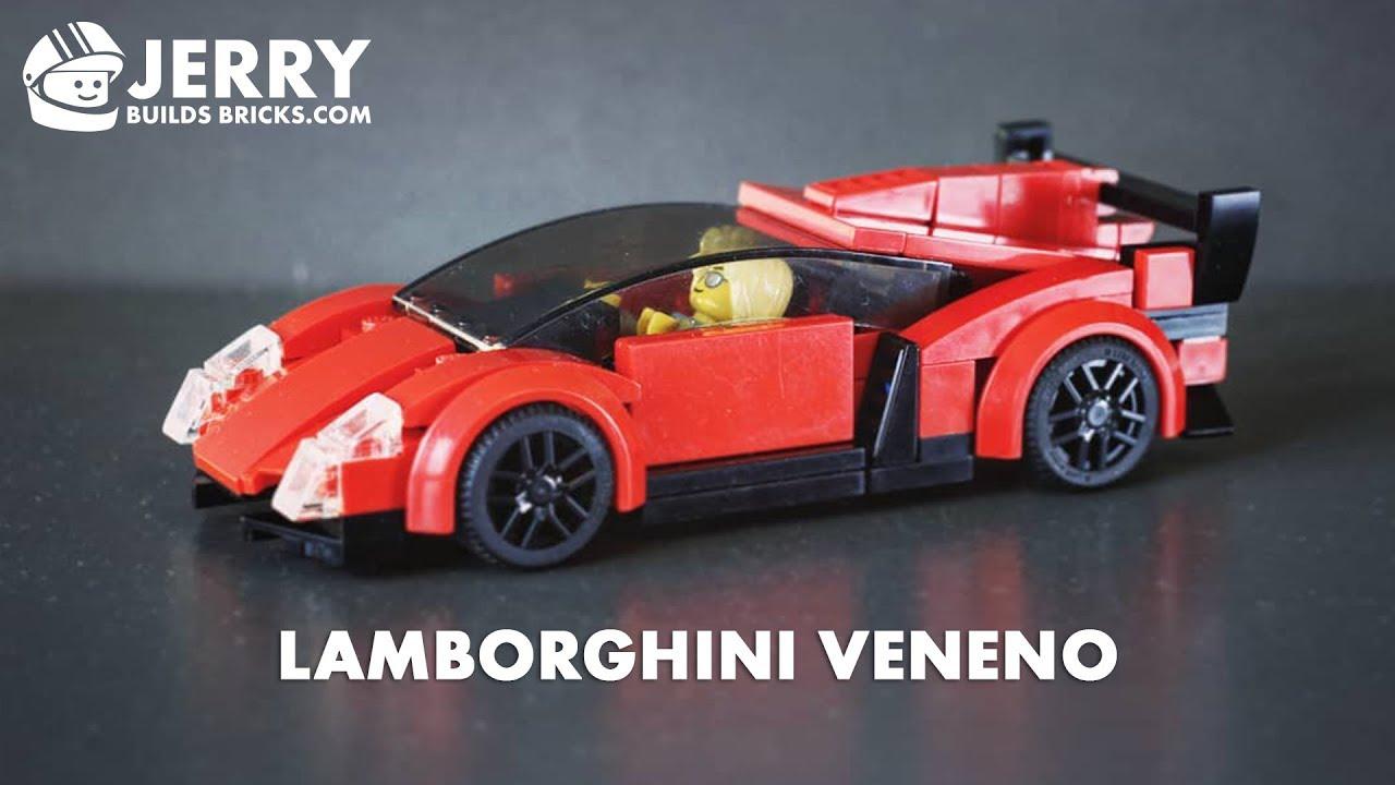 Lego Lamborghini Veneno Instructions Moc 39 Youtube