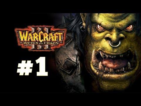 видео: warcraft 3 Господство Хаоса - Часть 1 - Исход Орды - Прохождение кампании Орки