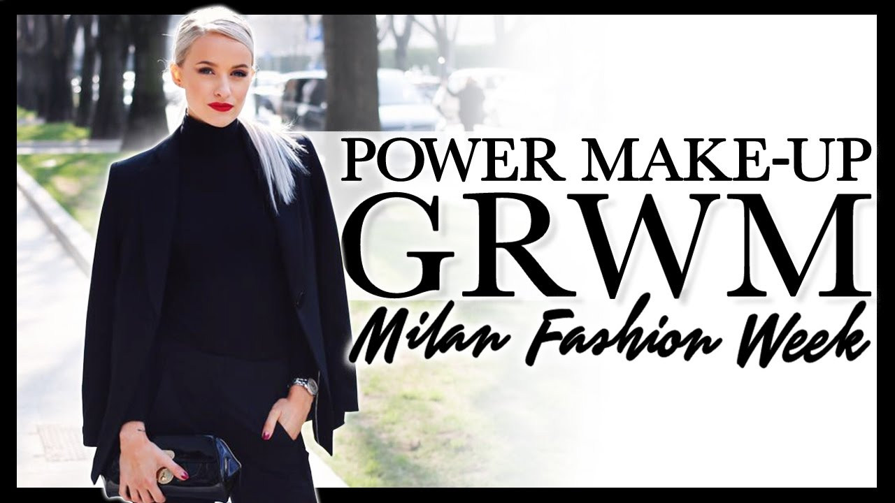 2ce3645b3a66 GET READY WITH ME  Classic Power Makeup in Milan! - YouTube