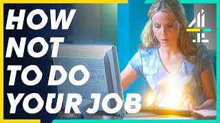 How NOT To Do Your Job… | Smack The Pony | Best Job Sketches