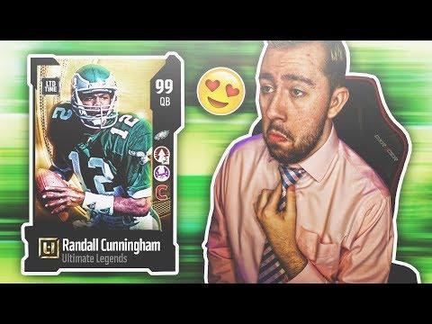 😱 OMG 99 RANDALL CUNNINGHAM IS A GOD! Madden 18 Ultimate Team