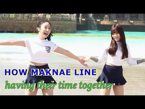 여자친구 신비 & 엄지 GFRIEND's SinB & Umji - Maknae Line: Having Fun
