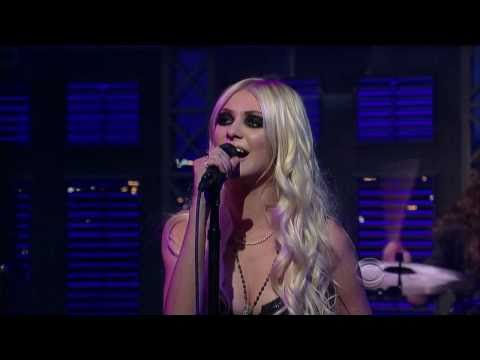 The Pretty Reckless at David's Letterman The Late Show - You Make Me Wanna Die HD Live