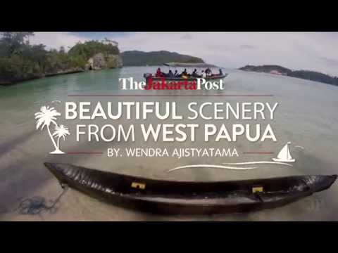 Beautiful scenery from West Papua