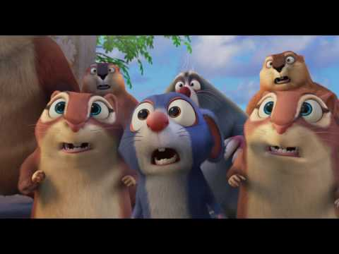 The Nut Job 2: Nutty By Nature Official Trailer - Now Playing!