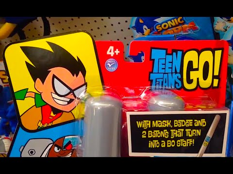 Teen Titans Go Robin Role Play Costume With Mask Badge