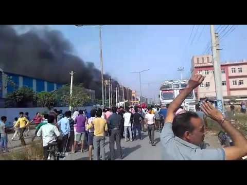Fire at Nova  Publication and Printers in Faridabad