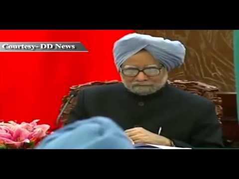 PM Dr Manmohan Singh's address to media after delegation level talks with the Chinese Premier