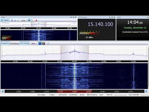 21 11 2017 Radio Sultanate of Oman in English to WeEu 1403 on 15140 Thumrayt