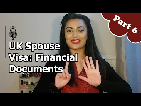 UK Spouse Visa 2018 - PART 6: Financial Documents