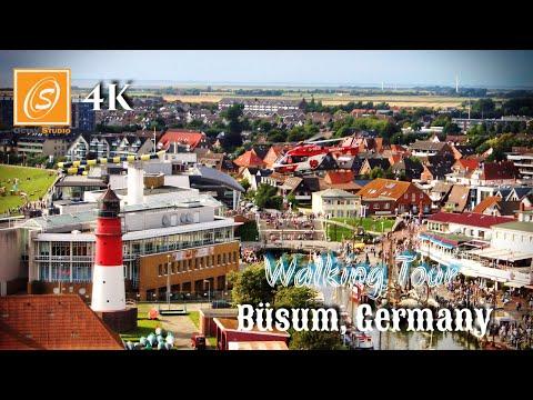 Büsum - Walking Tour, Schleswig Holstein, Germany