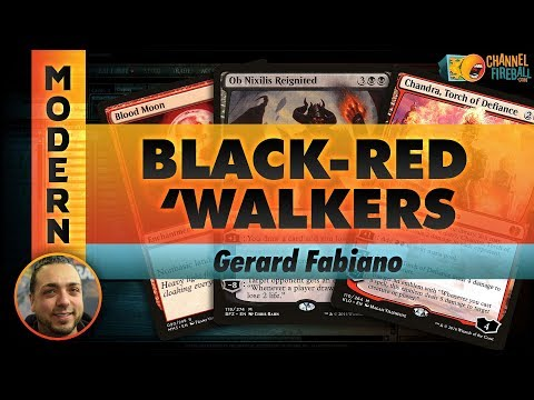 Channel GFabs - Modern Black-Red 'Walkers