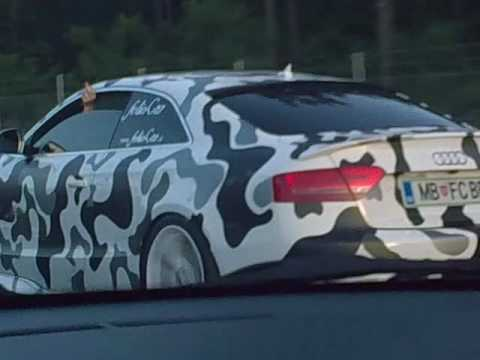 Camouflage Tuning Audi S5 From Foliocar By Bele Bostjan