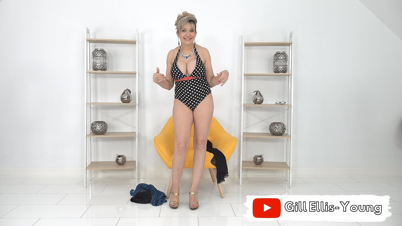 Gill Ellis-Young – Maximum Cleavage Sexy Swim Suits For Busty Mum's!