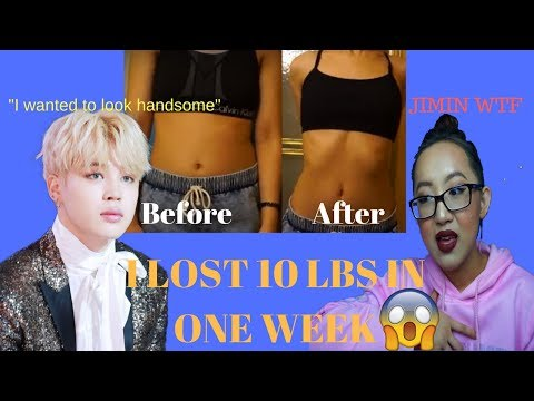 I did the bts(방탄소년단) jimin diet and I lost 10 lbs.