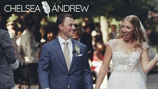 Chicago wedding video | Groom cries at gorgeous Chicago Botanic Gardens wedding