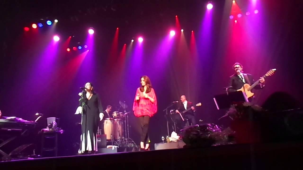 Nana Mouskouri Lenou Charleroi Belgium February 2014 Happy Birthday Tour Youtube