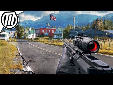 Far Cry 5 Real Life Graphics | Ultra Realism 4K 60fps