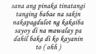 Masaya ako sayo - Curse One (Lyrics)