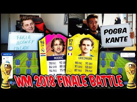 Es gibt eine WETTE! WM FINALE Frankreich vs Kroatien Squad Builder Battle - Fifa 18 Ultimate Team