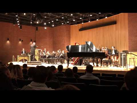 """UCONN Wind Ensembles - """"Point of Tranquility..."""" by Kenneth Fuchs"""