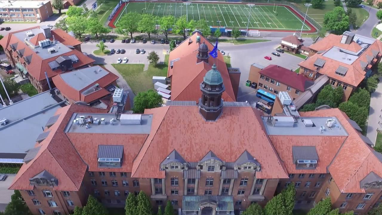 Drone Footage Of JOHN ABBOTT College