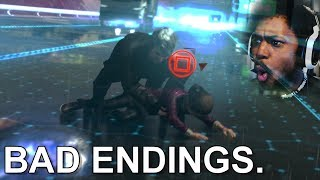 BAD ENDINGS. (very. bad.) | Detroit: Become Human (BAD ENDINGS) Part 12