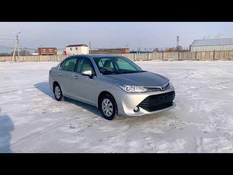 Обзор Toyota Corolla Axio 2016 г.в. Кузов NRE160