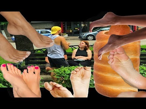 предлагаю полизать ноги прохожим | ПРАНК | Пикап|PRANK ФУТФЕТИШ FOOT FETISH| LICKING TOES