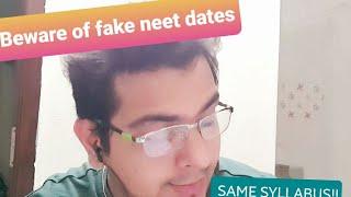 NEET2021   SYLLABUS/DATES   LATEST NEWS BASED ON DG-NTA INTERVIEW