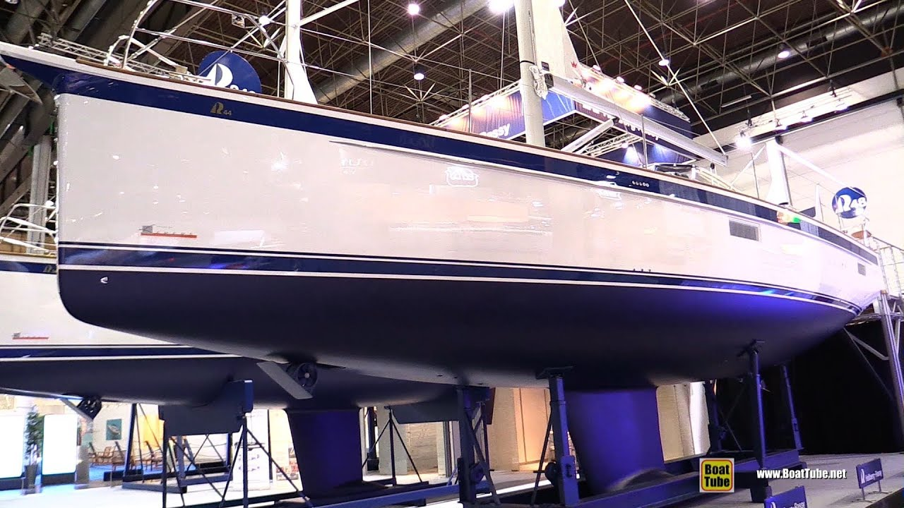 2018 Hallberg Rassy 44 Sailing Yacht - Walkaround - 2018 Boot Dusseldorf  Boat Show