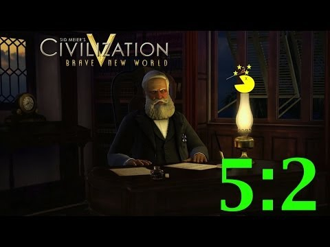 Let's Play Civilization 5 Brave New World 5:2 - Pedro II of Brazil