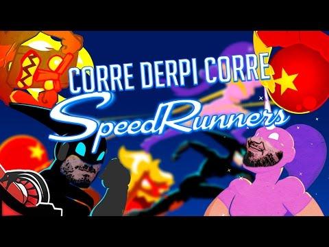 CORRE DERPI CORRE | SpeedRunners Vs Zellen, None y Eruby #RageDuels
