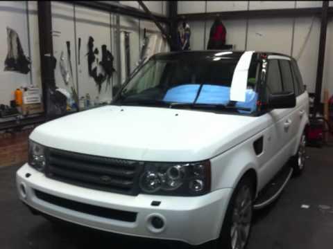 Matte White Land Rover >> Range Rover Matte White Wrap Youtube
