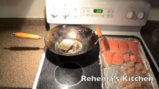 Rehema's Kitchen Ep.7 : Baked Chicken / Shrimp & Salmon Surprise!