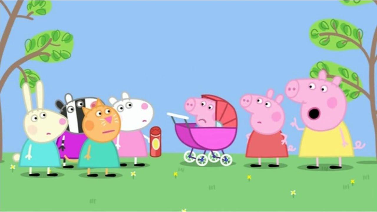 Peppa Pig The Baby Piggy Season 2 Episode 31 Youtube