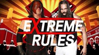 Kane vs Bray Wyatt Cage Match   WWF NO MERCY 2K16 MOD