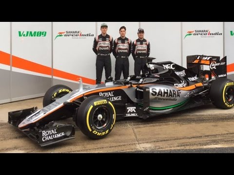 Force India VJM09 2016 Formula 1 Car Launched - Opinions & Analysis