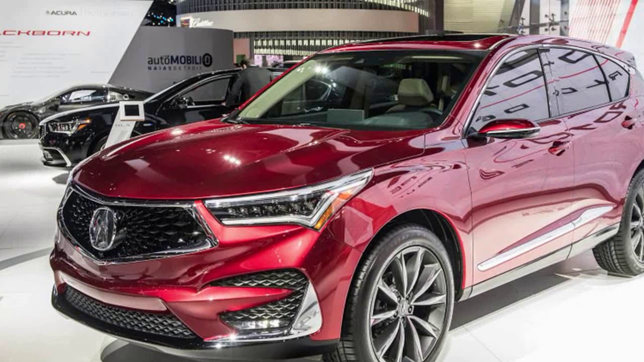 Acura 2019 Rdx >> 2019 Acura RDX Technology Package Prototype Review - YouTube