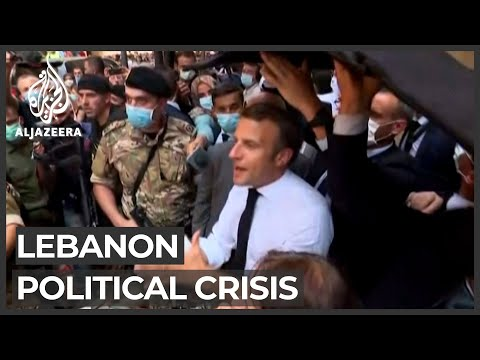 France's Macron urges Lebanon to form gov't in six weeks