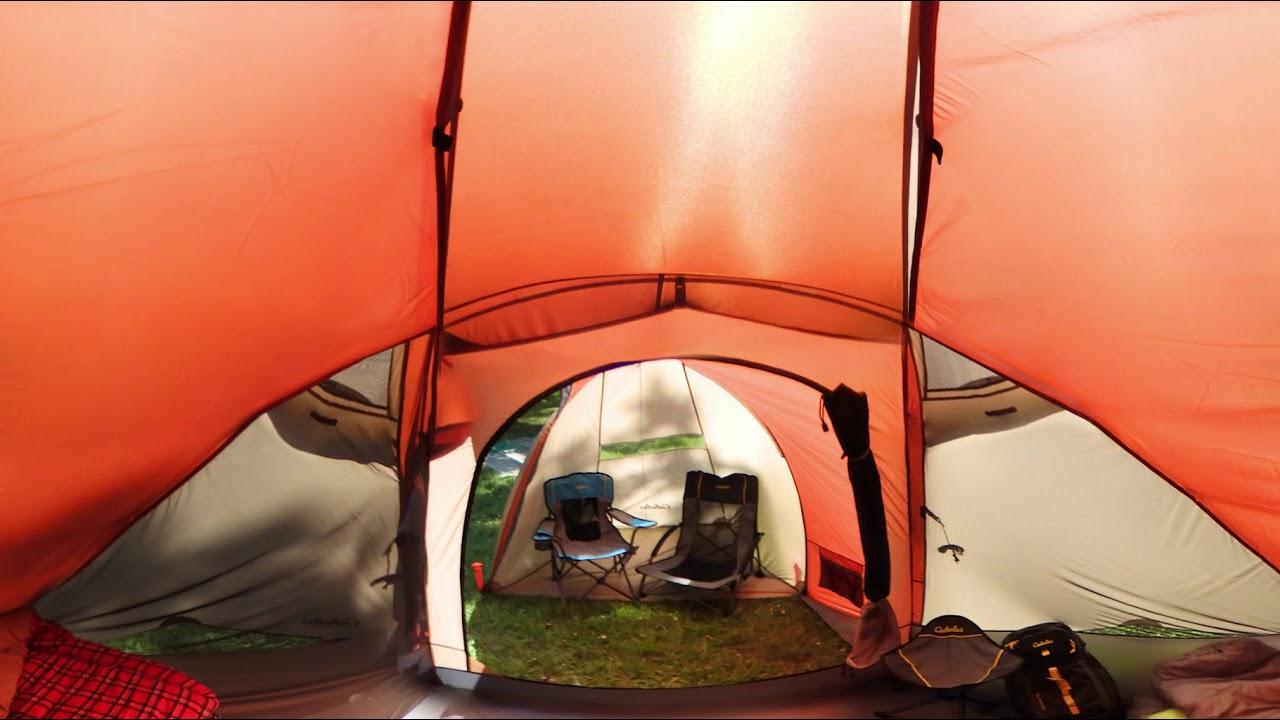 Cabelau0027s Westwind Dome 6-Person Tent | 360 Tour & Cabelau0027s Westwind Dome 6-Person Tent | 360 Tour - YouTube