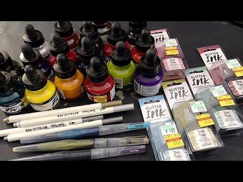 Hobby Lobby Ink Clearance Haul!