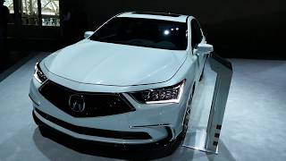 New 2018 Acura RLX Luxury Sedan - Exterior Walk Around Tour - 2017 LA Auto Show, California