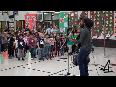 Rocky Heights Elementary School Welcomes Aaron Nigel-Smith!